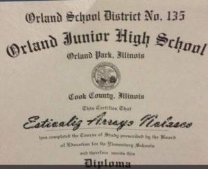 Esti High School Diploma