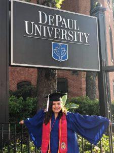 Esti Graduating from University